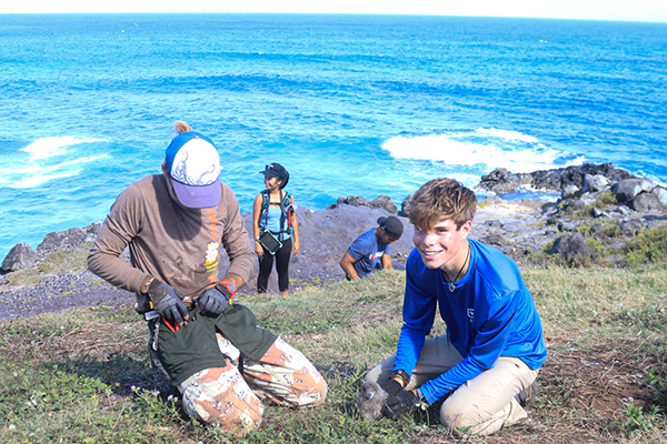 A passion for wildlife and photography: Recent biology grad scores dream internship in Hawaii