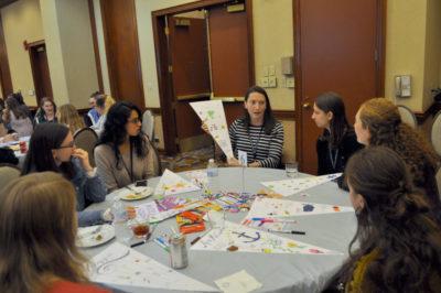 VFIC leadership workshop students