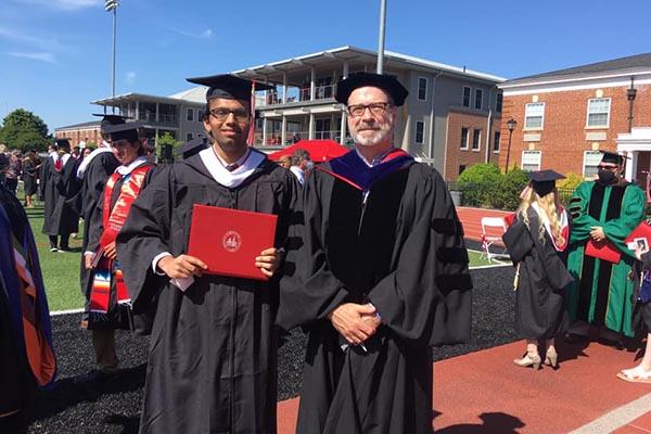 First intelligence studies major graduates from Lynchburg