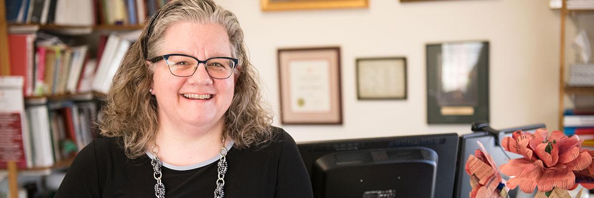 Allison Jablonski, provost and vice president for academic affairs