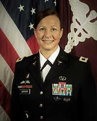 Colonel Amy Jackson, PA-C