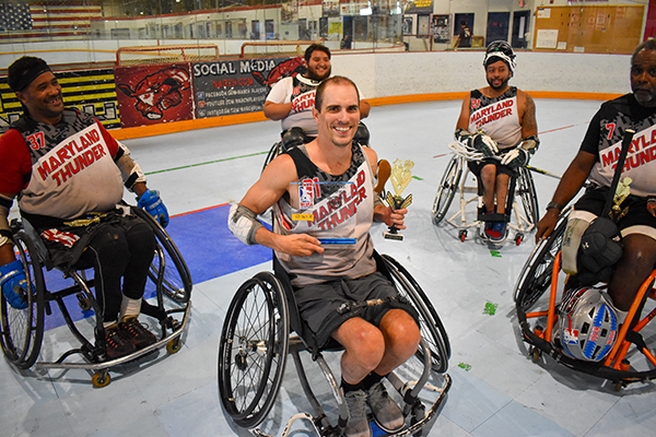 Get tough: Alum wins national wheelchair lacrosse championship