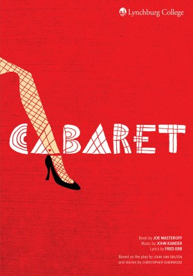 150534 Theatre poster - Cabaret