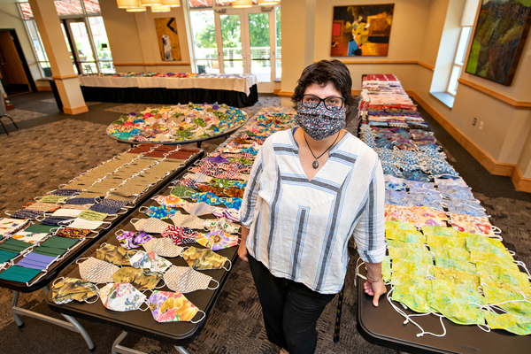 Lynchburg community sewing masks for 'family'