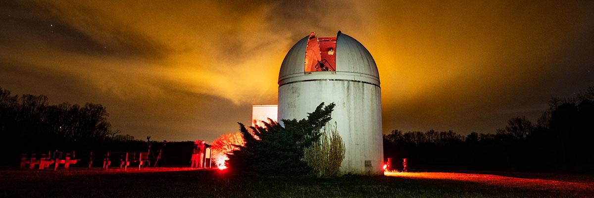 Belk Astronomical Observatory at Claytor Nature Center