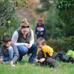 Children at Claytor Nature Center