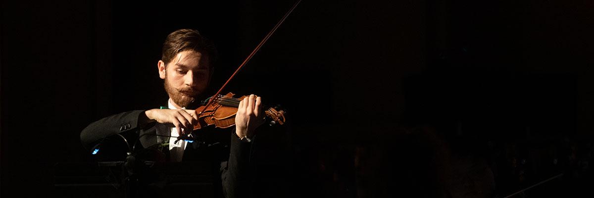 Colin Coviello '21, music education major