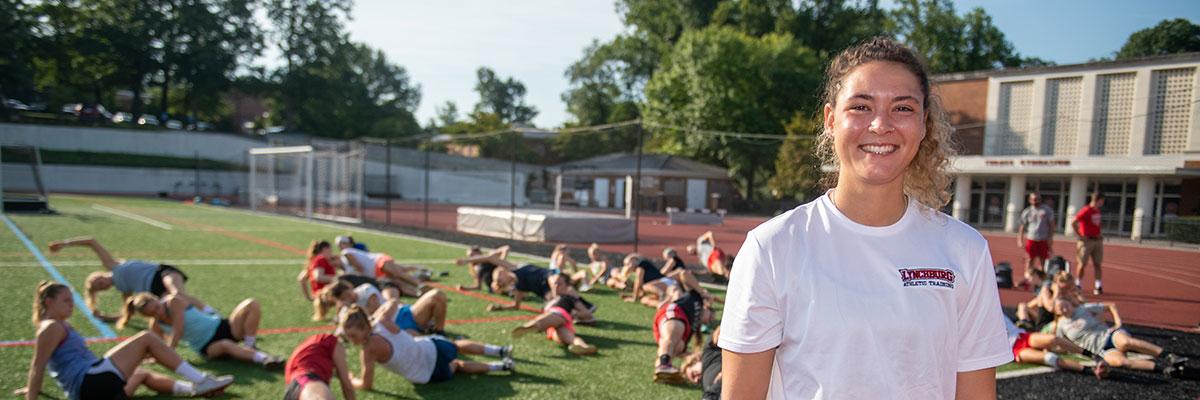 Lexie Austin '20 MSAT, Master of Science in Athletic Training alumna