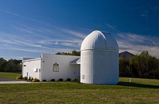 Observatory - east side, at Claytor Nature Center