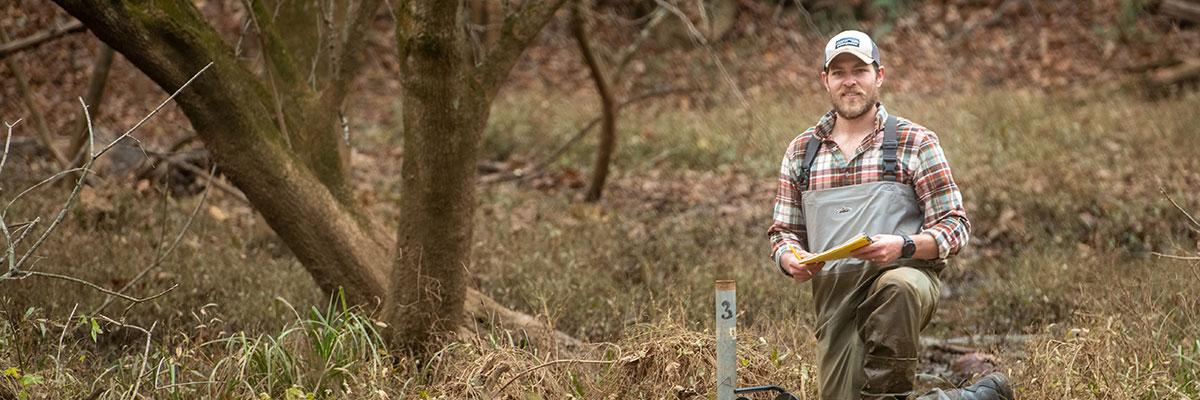 Benjamin Heskett '21, environmental science major