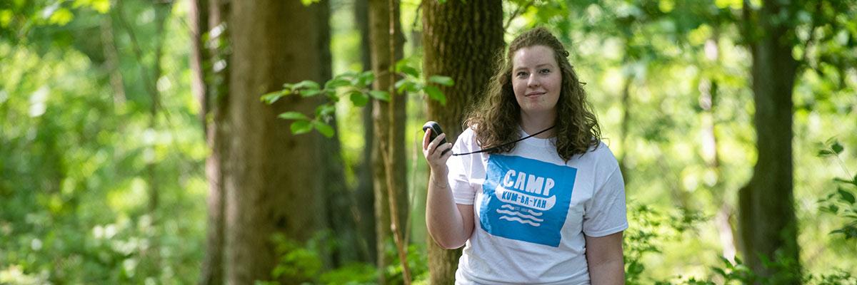 Taylor Waymire '19, environmental science major