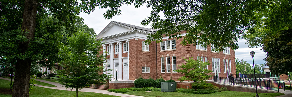 Hall Campus Center at the University of Lynchburg