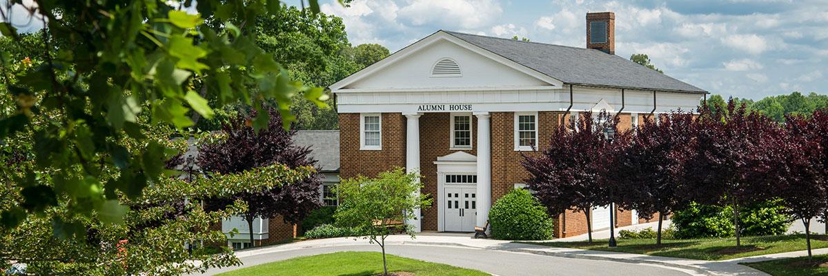 Walker Alumni House at the University of Lynchburg