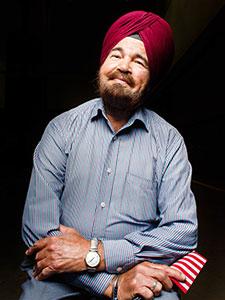 Darshan Singh portrait