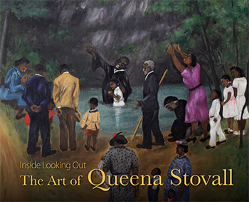 Queena Stovall painting - Cover of exhibition catalog