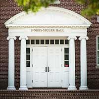 Hobbs-Sigler Hall entrance