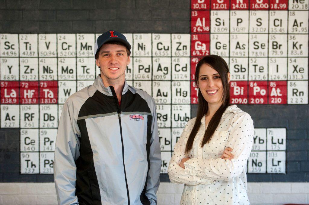 Chemistry graduates ready for pharmacy school