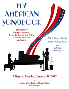 My American Songbook @ Snidow Chapel | Lynchburg | Virginia | United States