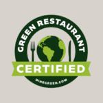 Certified Green Restaurant seal