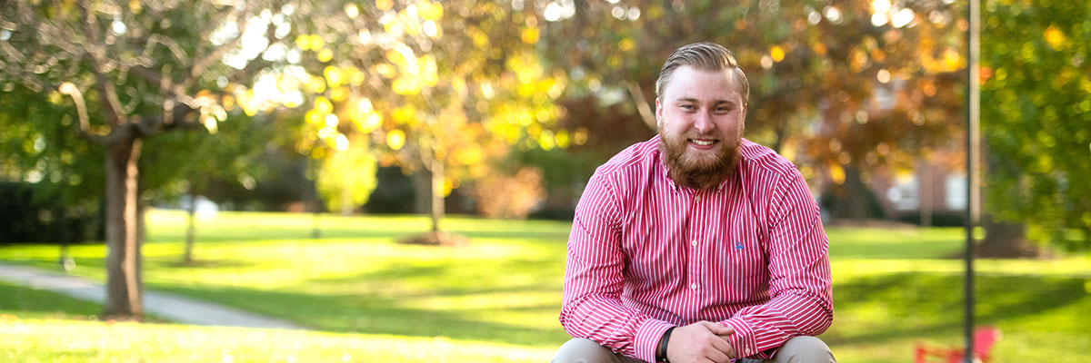 Carter Elliott '19, history and political science double major