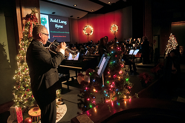 """Lynchburg music department releases """"Digital Holiday Greetings Concert"""""""