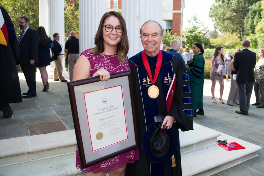 Math major named Sommerville Scholar
