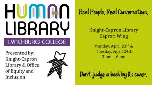 Human Library @ Knight Capron Library