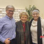 Dr. Brian Crim, Halina Peabody, and Hannah Belayachi