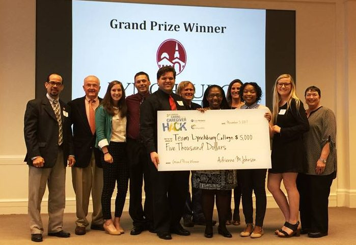 Lynchburg team wins grand prize in caregiver health hackathon