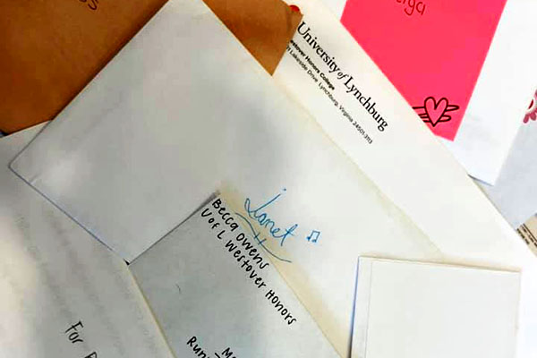 Westover pen pal program aims to 'brighten' older adults' days
