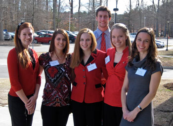 The LC Ethics Bowl team