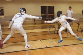 Caitlin Flathers fencing