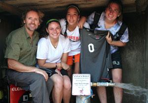 Olsen in Uganda at Anna