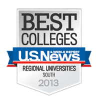 U.S. News & World Report Best Colleges badge