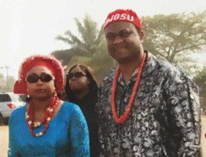 Jacob Nwosu, DMSc, PA-C and wife