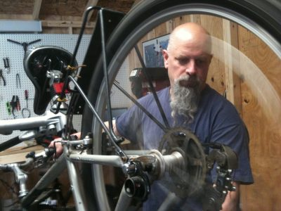 kevin peterson bike repair