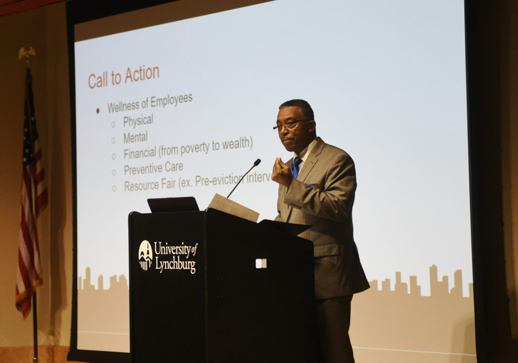Leaders collaborate on solutions for homelessness at University of Lynchburg
