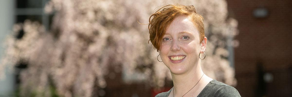 Ella Schwarz '15, '20 MEd, art major, studio art minor, and Master of Education in Curriculum and Instruction alumna
