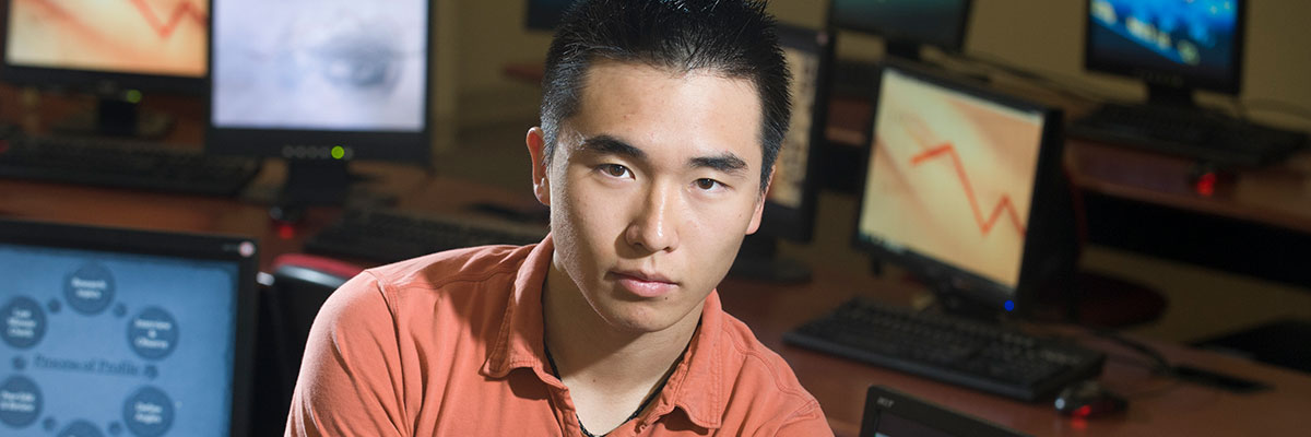 Daniel Cho '13, '18 MEd, business administration major and Master of Education in Curriculum and Instruction alum