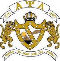 Alpha Psi Lambda crest
