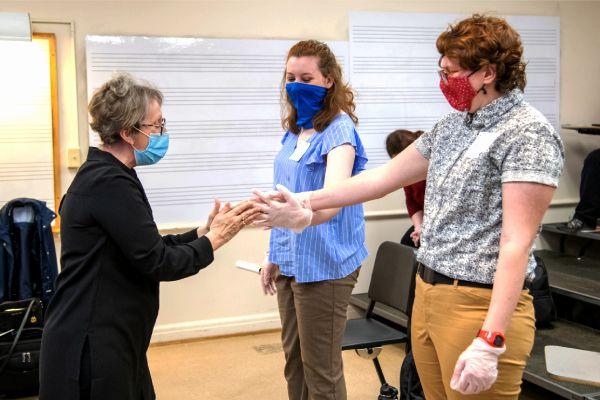 Music education students explore professional development amid pandemic