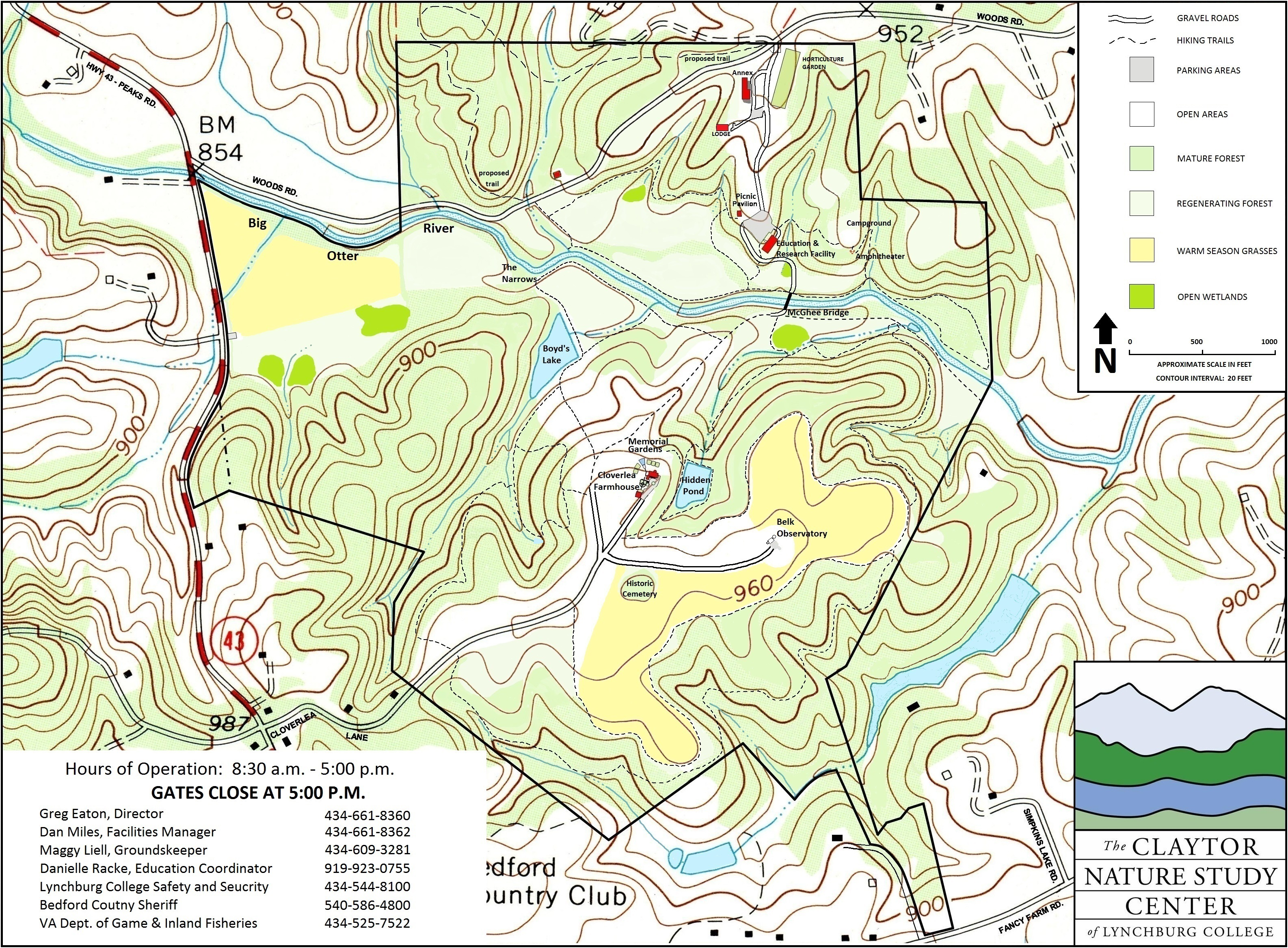 Nature Trails – University of Lynchburg