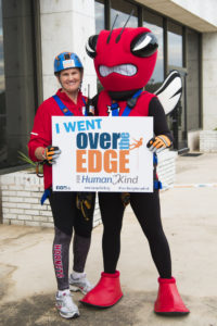 Dr. Pat Aronson - Over the Edge 2017