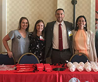 Dr. Jeremy Welsh and faculty and staff at the VAPA conference 2019