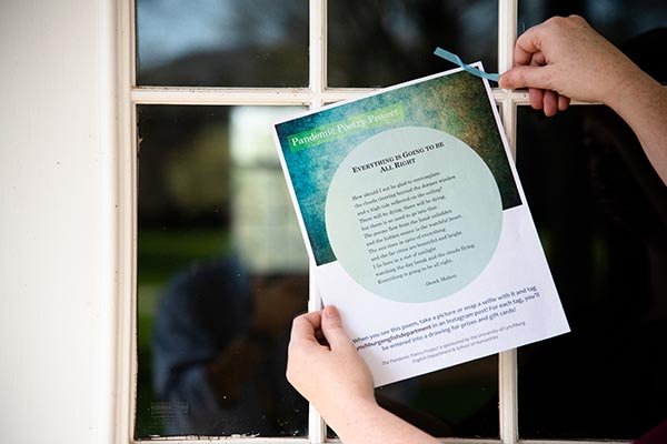 'Pandemic Poetry Project' spreads joy of poetry across campus