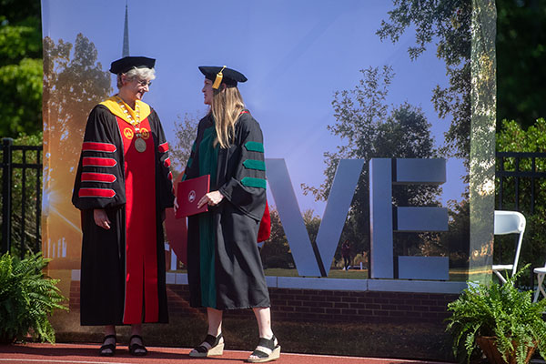 DMSc classes, graduate Class of 2021 celebrate Commencement in two ceremonies