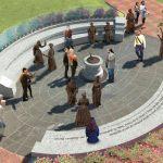 Women's Monument Rendering