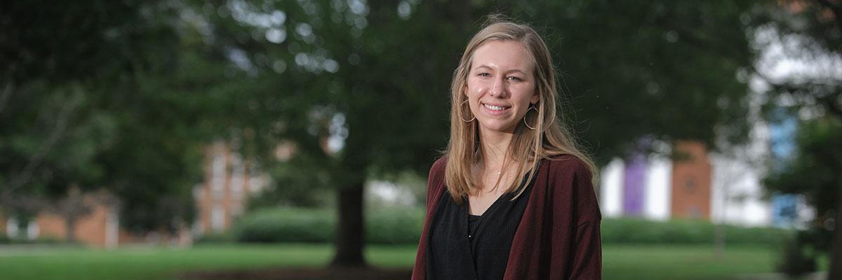 Sarah Mock '20, communication studies major and international relations minor