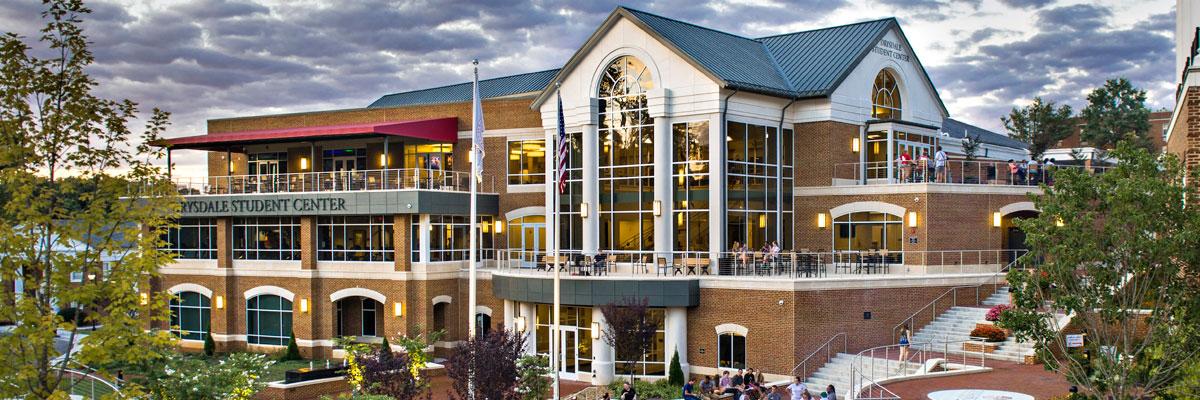 Drysdale Student Center at the University of Lynchburg