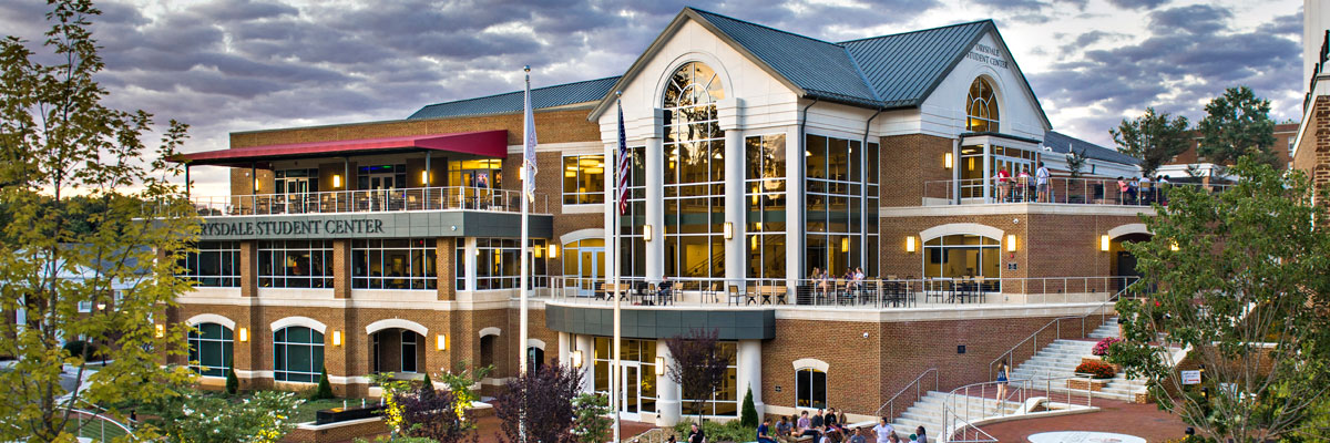 The Drysdale Student Center at the University of Lynchburg